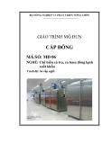 Giáo trình Cấp đông - MĐ06: Chế biến cá tra, cá basa đông lạnh xuất khẩu