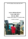 Giáo trình Vận chuyển - MĐ05: Ương giống và nuôi tu hài
