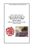 Giáo trình Chuẩn bị sơ chế và bảo quản cà phê - MĐ01: Sơ chế và bảo quản cà phê