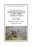 Giáo trình Chuẩn bị ao, bè nuôi và thả giống cá tra, cá ba sa - MĐ02: Nuôi nuôi cá tra, cá ba sa