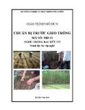 Giáo trình Chuẩn bị trước gieo trồng - MĐ01: Trồng rau hữu cơ