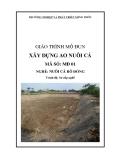 Giáo trình Xây dựng ao nuôi cá - MĐ01: Nuôi cá rô đồng