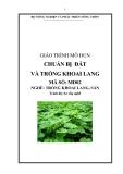 Giáo trình Chuẩn bị đất và trồng khoai lang - MĐ02: Trồng khoai lang, sắn