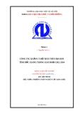Báo cáo: Công tác quản lý hộ tịch trên địa bàn tỉnh Bắc Giang trong giai đoạn 2012-2014
