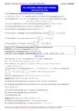 Luyện thi Đại học môn Toán: Phương trình mặt phẳng - Thầy Đặng Việt Hùng