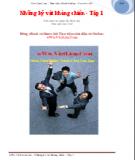 Ebook Những kỷ vật kháng chiến (Tập 1) - Lê Mã Lương (chủ biên)