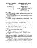Đề thi học sinh giỏi tỉnh môn Sinh học lớp 9 - Sở GD&ĐT Thanh Hóa