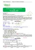 Bài giải chi tiết đề tuyển sinh Đại học 2013 môn Hóa học khối A (Mã đề 374)