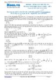 Chuyên đề LTĐH môn Vật lý: Dùng giản đồ vecto để giải bài toán điện xoay chiều (Đề 2)
