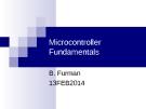 Microcontroller Fundamentals