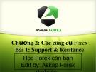 Bài giảng Forex căn bản - Chương 2 (Bài 1): Support & Resitance