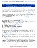 Luyện thi ĐH môn Hóa học 2015: Nâng cao-Phương pháp giải bài toán điện phân (Phần 3)