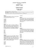 Đề thi Toán Gmat (Đề số 11) - FPT Softwave