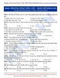 Luyện thi ĐH môn Hóa học 2015: Cơ bản-Phương pháp điều chế-tinh chế kim loại
