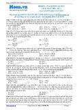 Chuyên đề LTĐH môn Vật lý: Mạch điện xoay chiều RLC có R thay đổi (Đề 1)