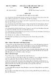 Thông tư số 16/2014/TT-BCT