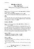 Đề kiểm tra học kì I môn Ngữ văn 8
