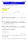 Luyện thi Đại học môn Toán: Bài toán lập phương trình đường thẳng (Phần 3) - Thầy Đặng Việt Hùng