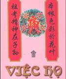 Phong tục Việt Nam - Việc họ: Phần 1