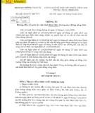 Thông tư số 32/2014/TT-BGTVT