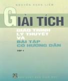Giáo trình Giải tích (Tập 1): Phần 2 - Nguyễn Xuâm Liêm
