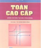 Ebook Toán cao cấp (dùng cho đào tạo bác sĩ đa khoa): Phần 2 - TS. Hoàng Minh Hằng (chủ biên)