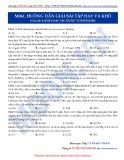 Luyện thi ĐH môn Hóa học 2015: Hướng dẫn giải một số bài tập khó-Kim loại tác dụng với phi kim