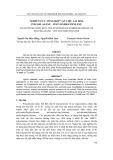 Tạp chí khoa học và công nghệ: Nghiên cứu tổng hợp vật liệu lai hóa Polysilazane-Polyoxideethylene