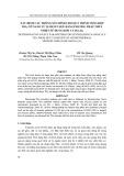 Tạp chí khoa học và công nghệ: Xác định các thông số chính cho quá trình tổng hợp TIO2 cỡ nano từ Ilmenit huế bằng phương pháp thủy nhiệt sử dụng KOH và H2C2O4