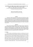 Tạp chí khoa học và công nghệ: Giải pháp giảm nhiễu trong miền Wavelet để nâng cao hiệu suất nhận dạng tiếng nói tự động