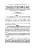 Tạp chí khoa học và công nghệ: Xây dựng phần mềm xác định độ cứng để tính toán sàn phẳng bê tông ứng lực trước theo TCXDVN 356:2005