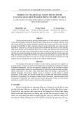Tạp chí khoa học và công nghệ: Nghiên cứu ứng dụng mã nguồn mở Lucene để xây dựng phần mềm tìm kiếm thông tin trên văn bản