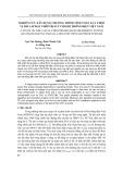 Tạp chí khoa học và công nghệ: Nghiên cứu xây dựng chương trình tính toán lựa chọn vị trí lắp đặt thiết bị SVC cho hệ thống điện Việt Nam