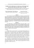 Tạp chí khoa học và công nghệ: Nghiên cứu sự đông rắn của Polysilazane ở điều kiện thường bằng phương pháp FT-IR VÀ 29SI-NMR