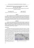 Tạp chí khoa học và công nghệ: Chỉnh định mờ tham số PID cho bộ điều tốc tuabin nhà máy thủy điện