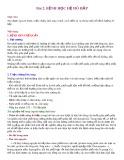 Bài giảng Bài 2: Bệnh học hệ hô hấp