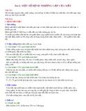 Bài giảng Bài 8: Một số bệnh thường gặp về mắt