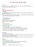 Bài giảng Bài 5: Bệnh học hệ tiết niệu