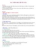 Bài giảng Bài 3: Bệnh học hệ tiêu hóa