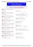 Toán học lớp 10: Hệ phương trình bậc hai sơ cấp - Thầy Đặng Việt Hùng