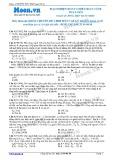 Chuyên đề LTĐH môn Vật lý: Mạch điện xoay chiều RLC có R thay đổi