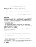 Dược lý học 2007 - Bài 9: Thuốc giảm đau loại Morphin