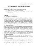 Dược lý học 2007 - Bài 33: Histamin và thuốc kháng Histamin