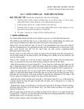 Dược lý học 2007 - Bài 17: Thuốc chống lao-thuốc điều trị phong