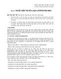 Dược lý học 2007 - Bài 31: Thuốc điều trị rối loạn lipoprotein máu