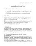 Dược lý học 2007 - Bài 18: Thuốc điều trị sốt rét