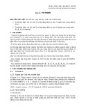 Dược lý học 2007 - Bài 34: Vitamin