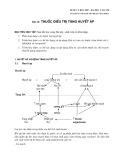 Dược lý học 2007 - Bài 24: Thuốc điều trị tăng huyết áp