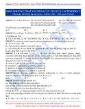 Luyện thi ĐH môn Hóa học 2015: Nâng cao-Phương pháp xác định cấu tạo cacbohidrat