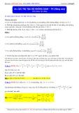 Luyện thi Đại học môn Toán: Cực trị tọa độ không gian (Phần 5 Nâng cao) - Thầy Đặng Việt Hùng